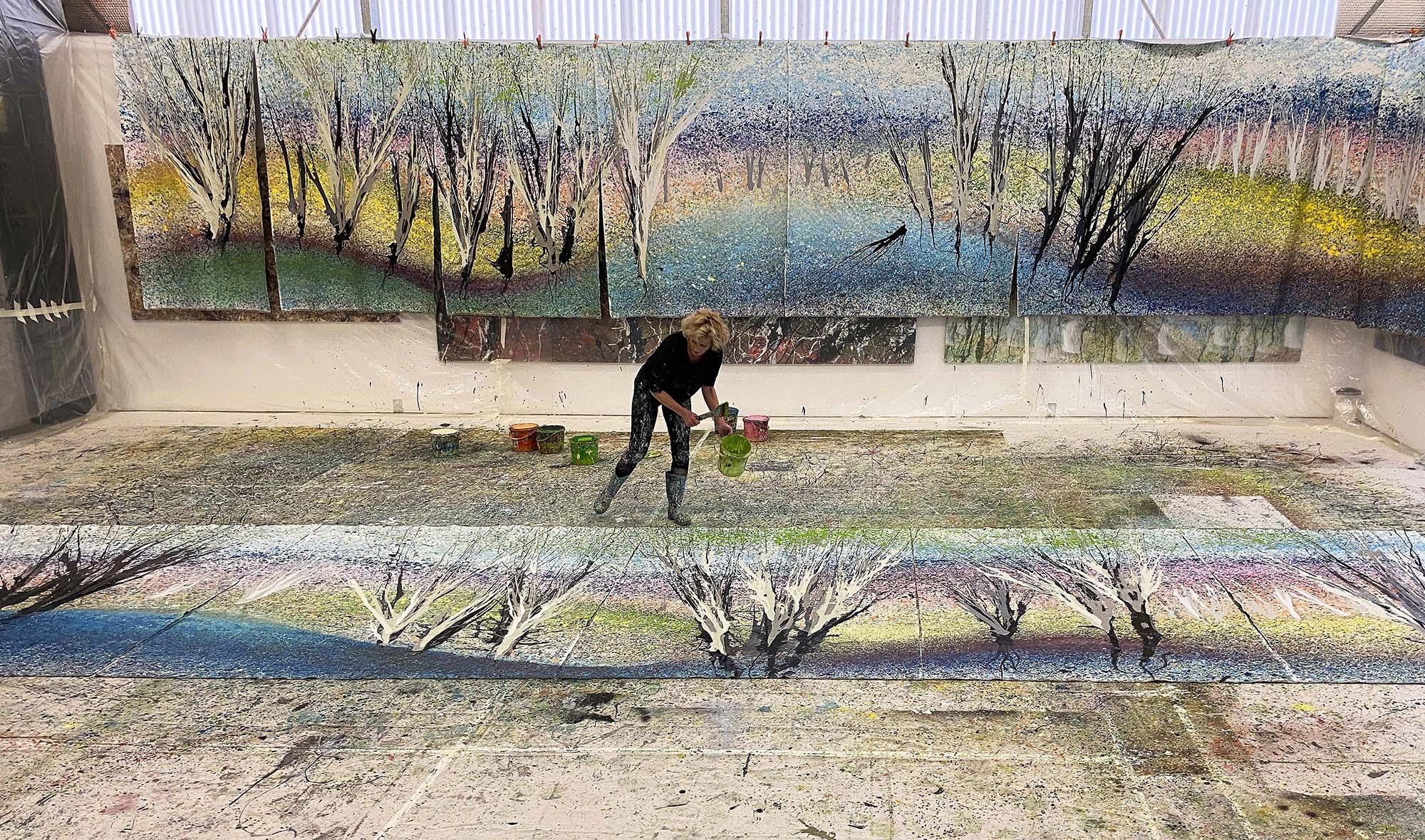 In Flow, Exhibition of Work by Kerrie Warren 2022
