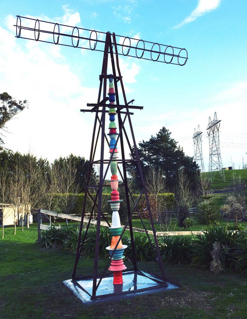 Totem in the Landscape 2018, Situated at Kerrie Warren Art Studio