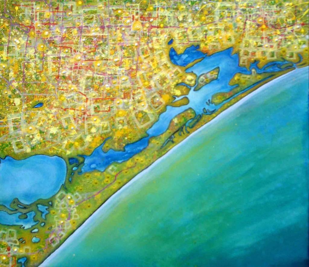 Gippsland Lakes 2006, Artist Kerrie Warren