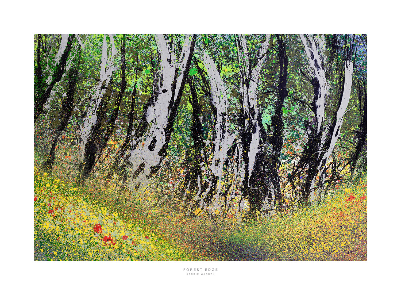 Giclee Print, Forest Edge, Kerrie Warren