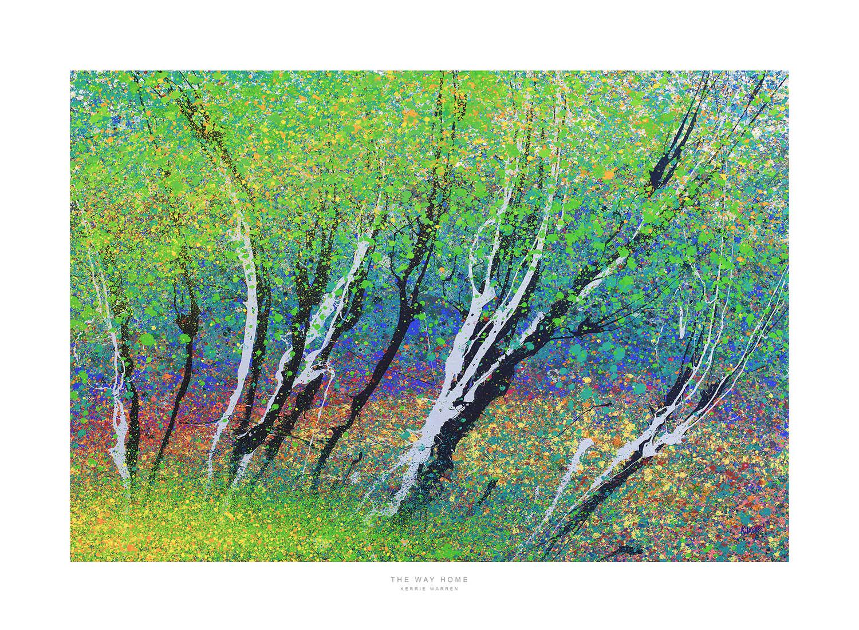 Giclee Print, The Way Home, Kerrie Warren