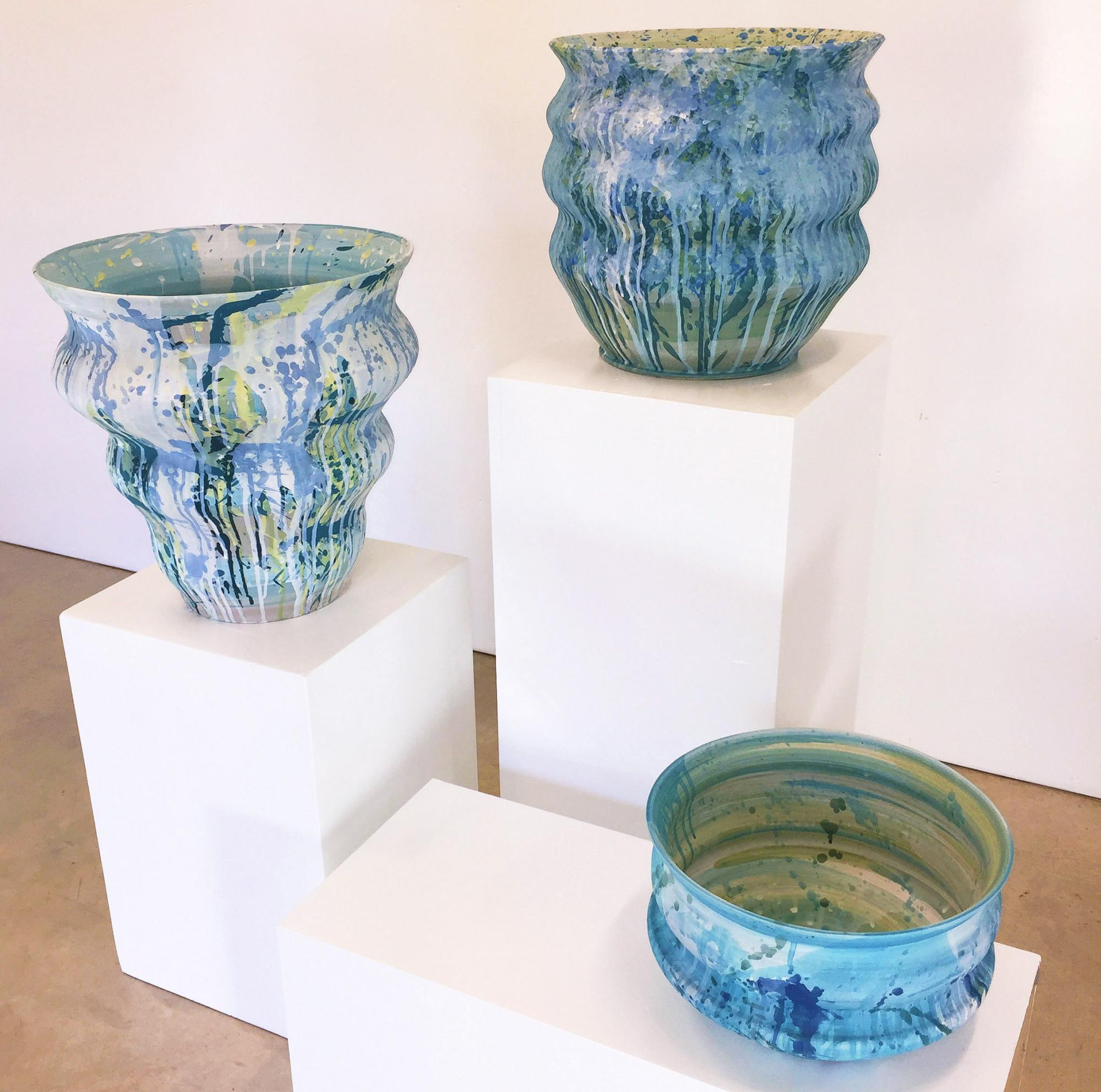Stoneware Ceramics 1, 2 & 3
