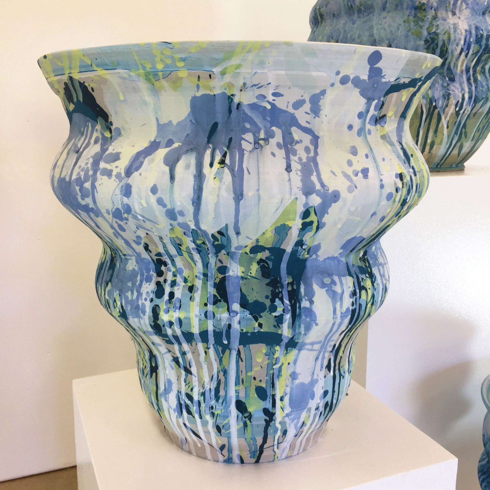 Cascade 1, Stoneware Ceramics by Kerrie Warren