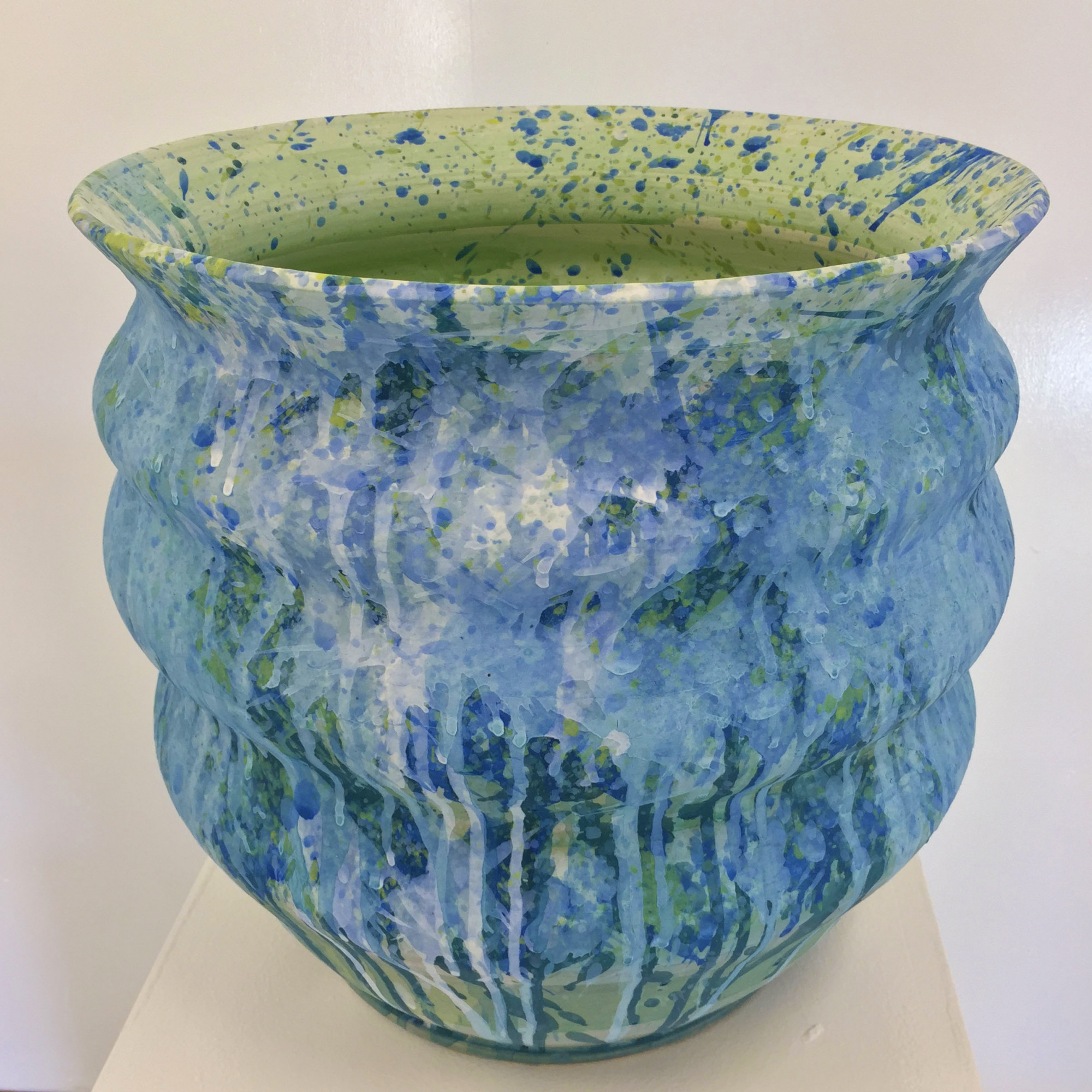 Cascade 2, Stoneware Ceramics by Kerrie Warren