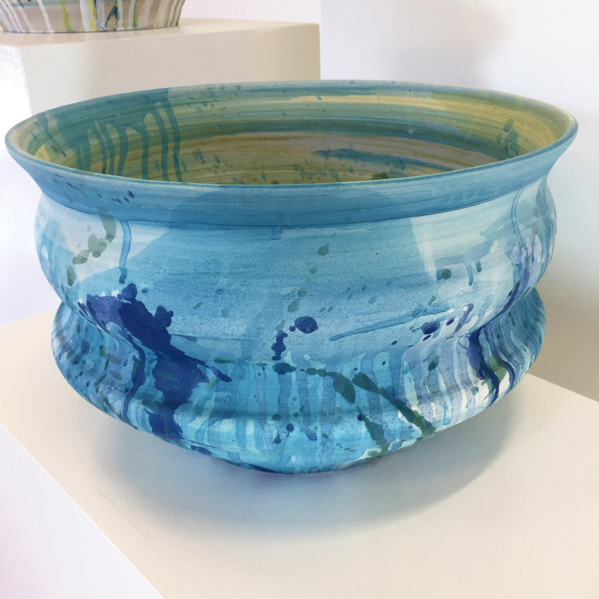 Cascade 3, Stoneware Ceramics by Kerrie Warren